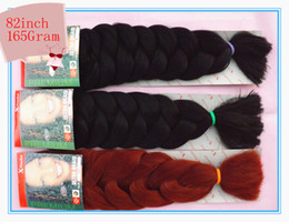 Wholesale Via Fedex X pression G quot Color1 B GALA Ultra Braid High Temperature Fiber