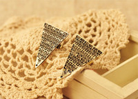 Wholesale Fashion Rings Vintage Punk Rings Love Magic Triangle Ring Women Jewelry J458