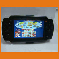 Wholesale inch G MP4 MP5 PMP Handheld Game Player Console bulit in camera FM TV OUT