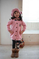 Wholesale Autumn Winter Children Clothing Baby Clothes Children outfit coat kids outwear wind coat Girl Jacket