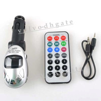 Wholesale SILVER Car Kit MP3 Modulator Player FM Transmitter USB GA1175
