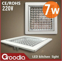 Wholesale 7W LED beads square kitchen lights ceiling lamps decorative lights