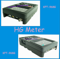 Wholesale Newest Design KPT G HD quot LCD DVB S2 MPEG4 DVB S MPEG2 digital satellite finder meter