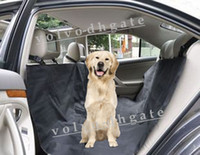 Wholesale Black Waterproof Pet Dog or Cat Seat Cover for Car Truck SUV