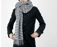 Wholesale 2pcs Wool amp Cotton Blends Warm Thick Bohemian Fashion Women Men Scarf Scarves cm