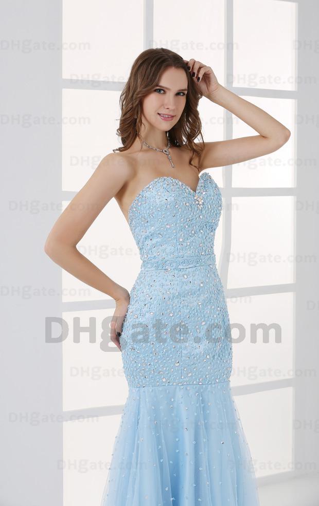 Sky Blue Prom Dresses 2013