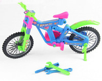 Wholesale 3D Dismantling Bicycle Bike Intelligence Kids Toys Blocks Recognizing Shape Children Simulation Gift