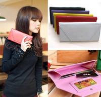 Special Promotion Envelope Korean Faux Leather Women Lady Wa...