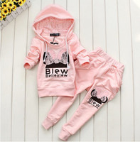 Winter Halloween Long Sleeve 12sets lot 3colors Baby Clothing Set girls sport suit Baby Clothes Sport Suit Fashion Butte