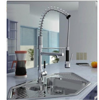Wholesale 2012 hot kitchen faucet faucet American high pressure spring cold copper multi function