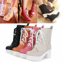 Wholesale 2012 Woman Boots Girls Children Boot Short Snow Boots antiskid Shoes High Shoes size34 Pink Black