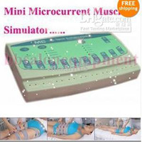 Wholesale Mini Home Professional Microcurrent Face amp Body Tighten Slim Lift Beauty Salon Equipment