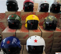 Wholesale CHINESE AIR FORCE JET PILOT FLIGHT HELMET Electric cars motorcycle women men helmet color can choose