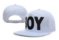 Wholesale Brand NEW london boy black and white snap back hats drop shipping