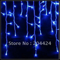Wholesale Xmas LED snowing icicle lights curtain for Christmas wedding party garden