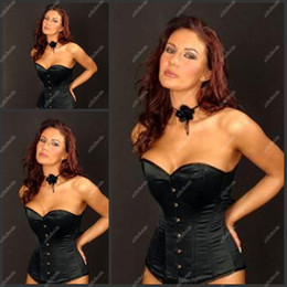Wholesale C0R Top Quality Black Sweetheart Corset Sheath Sexy Corset For Women