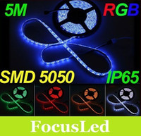 Wholesale 100 Meter Led Strip Light SMD Led m RGB Led Flexible Strip V Waterproof IP65 With M Tape