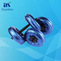 Wholesale New Chrismas Gift Water Poured Dumbbell have RoHS approved pairs EMS