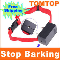 Wholesale Anti Bark No Barking Dog Training Shock Control Collar H4389