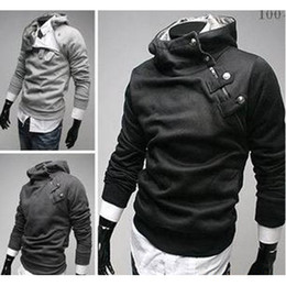 Wholesale Fashion Korean style men pullover fleece hoodie cotton fleece long sleeve hoodie colors instock