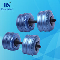 Wholesale New product for adjustable dumbbells Water Poured Dumbbell By DHL pairs