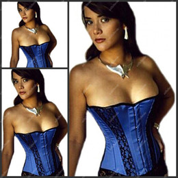 Wholesale C0R Hot Sexy Stapless Black Pattern Corset For Women