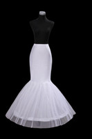 ball gowns discount - Big Discount General Size White Mermaid petticoat PE013