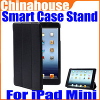 Wholesale Smart Cover Leather Case Fold Magnetic Stand Holder for Apple iPad Mini