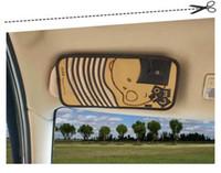 Wholesale Leather Winnie Multifunction Car CD Bags Box Sets Car Sun Visor Auto Accessories Pouch