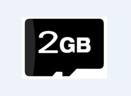 2GB Micro SD/SDHC TF Carte Mémoire Flash, 2 GO de véritables nouvelles Cartes avec des adaptateurs, 100pcs/lot, gratuit DHL