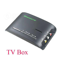 Wholesale VGA external TV Box Support inch monitor support LCD and CRT monitor tv tuner box tv tuner