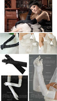 Wholesale Ladies Satin Party Fancy Dress Prom Evening Wedding Bridal long Finger Gloves