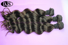 Wholesale Natural Wave Peruvian Virgin Hair Wet And Wavy Hair Weave Bundles inch