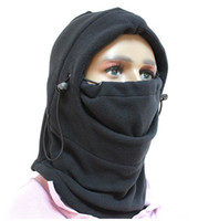 Wholesale 6 in Thermal Fleece Balaclava Hood Police Swat Ski Bike Wind Stopper Mask New