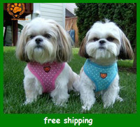 Wholesale My pet quot Brand Fashion pet Harness dog vest Cat Dogs Collars Leashes XS S M L XL