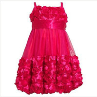 Wholesale NWT Bonnie Jean Dress Bonanz Bubble Flower Soutache Pageant Girls