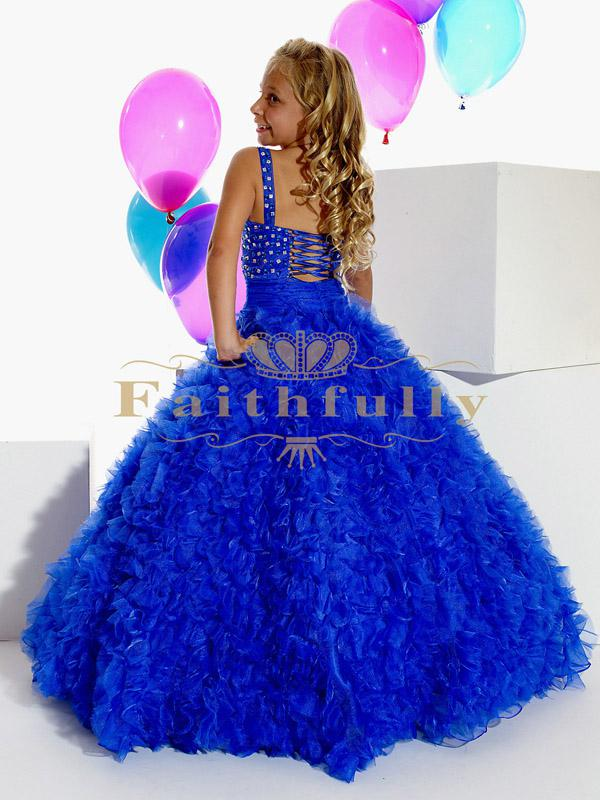 Girls Junior Pageant Dress