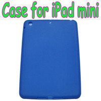 "Protective Shell/Skin For Apple For Ipad Mini Cheap Colorful silicone Back Cover Case Soft skin Cases for 7.9 inch 7.85"" iPad mini 200pcs lot"