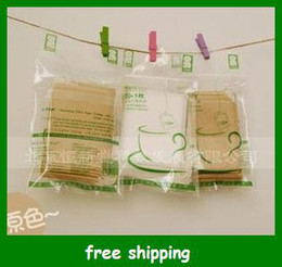 Wholesale eBags Empty Tea Bag x10cm Sealed by String Filter paper Tea tools gifts