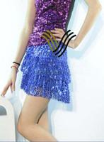 Stage clothing dancing wear fashion clubwear full Sequins mi...