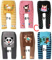 Wholesale Baby Legging Girl Flexible Tights PP Pants Cute Animal S M L Size Mix Order