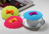 Wholesale New Farfalle Cup Cap Colorful silicone butterfly cup cap
