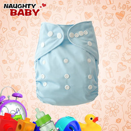 Free Shipping Nappies New Lovely Naughtybaby cloth diaper reuseable plain color nappies One Pocket Diaper covers, no inserts 100 Pcs