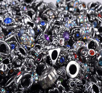 100pcs Loose Beads For Pandora Jewelry Silver Plated For Eur...
