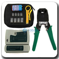 Wholesale Crimp Tool RJ45 RJ12 LAN Cable Tester Punch Tool