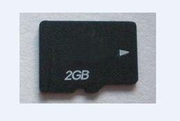Real 2GB Micro SD HC Memory Card Full Capacity Genuine 2 GB MicroSD TF Flash mini Cards w adapter