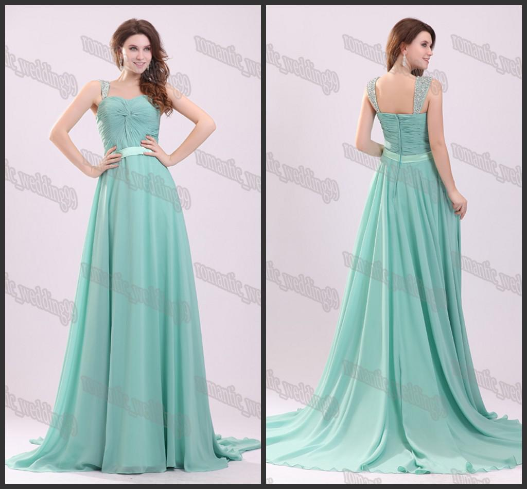 2015 Spring Collection Sexy Cap Sleeves Prom Evening Dresses Soft ...