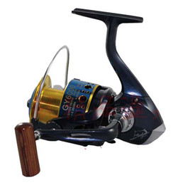 big game alloy head line cup and arm spinning fishing reel