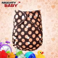 Wholesale New Lovely Naughtybaby cloth diaper reuseable printed nappy covers no inserts