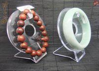 Wholesale Acrylic circle bracelet holder rack